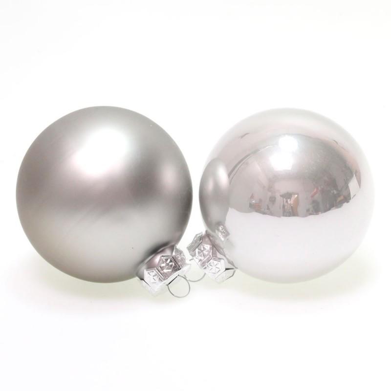 christbaumkugeln glas weihnachtskugeln kugeln 80mm 8cm 16. Black Bedroom Furniture Sets. Home Design Ideas