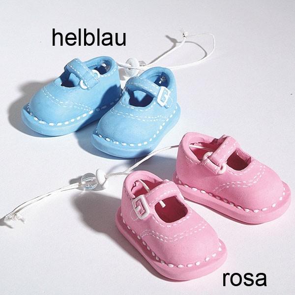 streudeko taufe geburt babyschuhe 5 5cm schuhe baby set keramik rosa oder blau t ebay. Black Bedroom Furniture Sets. Home Design Ideas