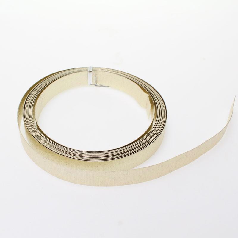 (2,51€/1m) Aludraht Flachdraht Aluminium Draht geprägt 15mm x 5m