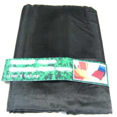 dekostoff organza stoff 3x1 45m schwarz floristik basteln b nder stoffe tischb nder stoffe. Black Bedroom Furniture Sets. Home Design Ideas